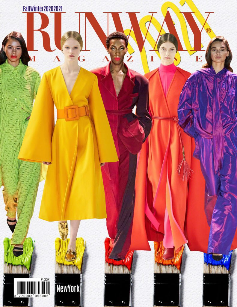 RUNWAY Magazine 2020 issue - Fall-Winter 2020-2021 NewYork collections
