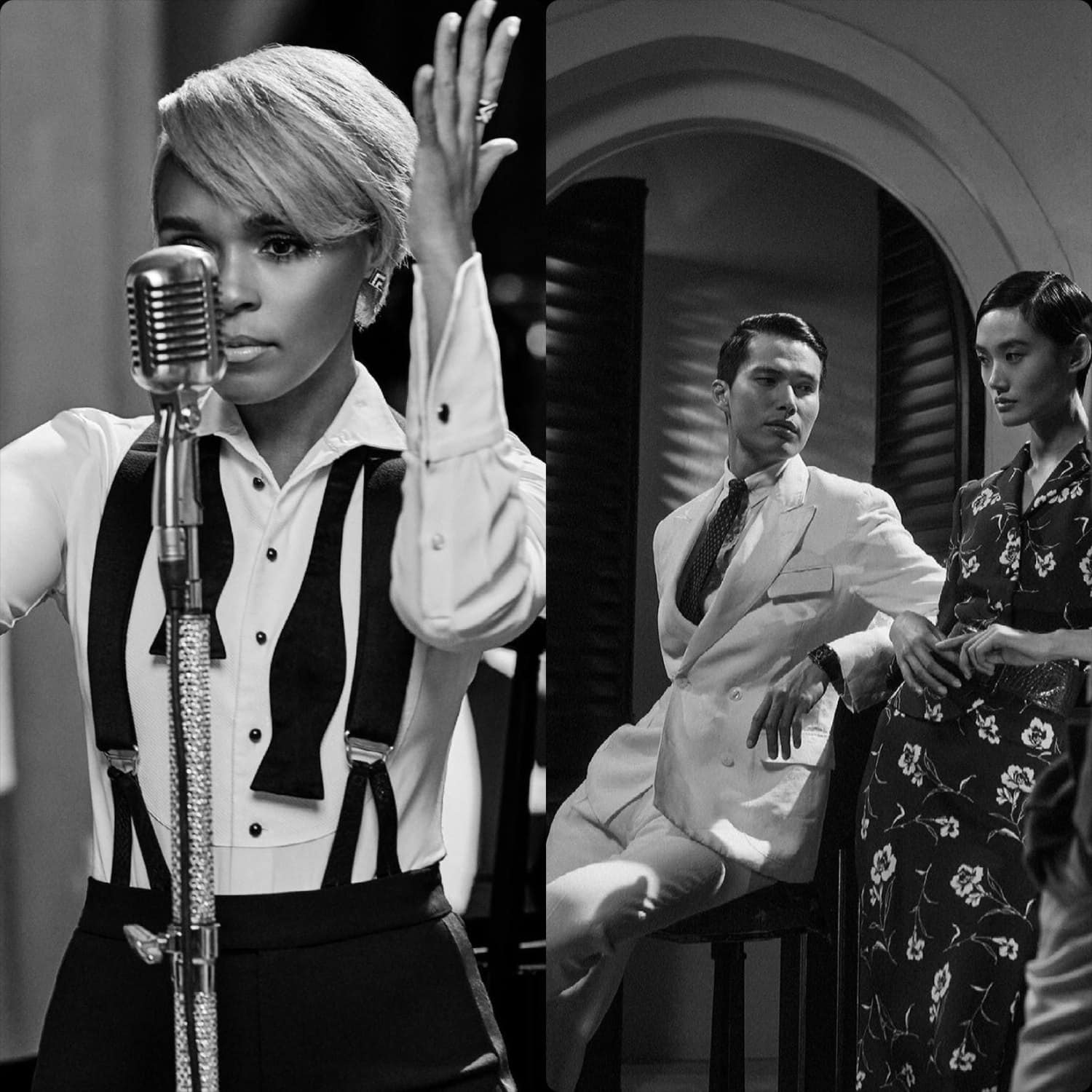 Ralph Lauren Spring 2021 - All or Nothing at All - Janelle Monáe LIVE concert by RUNWAY MAGAZINE