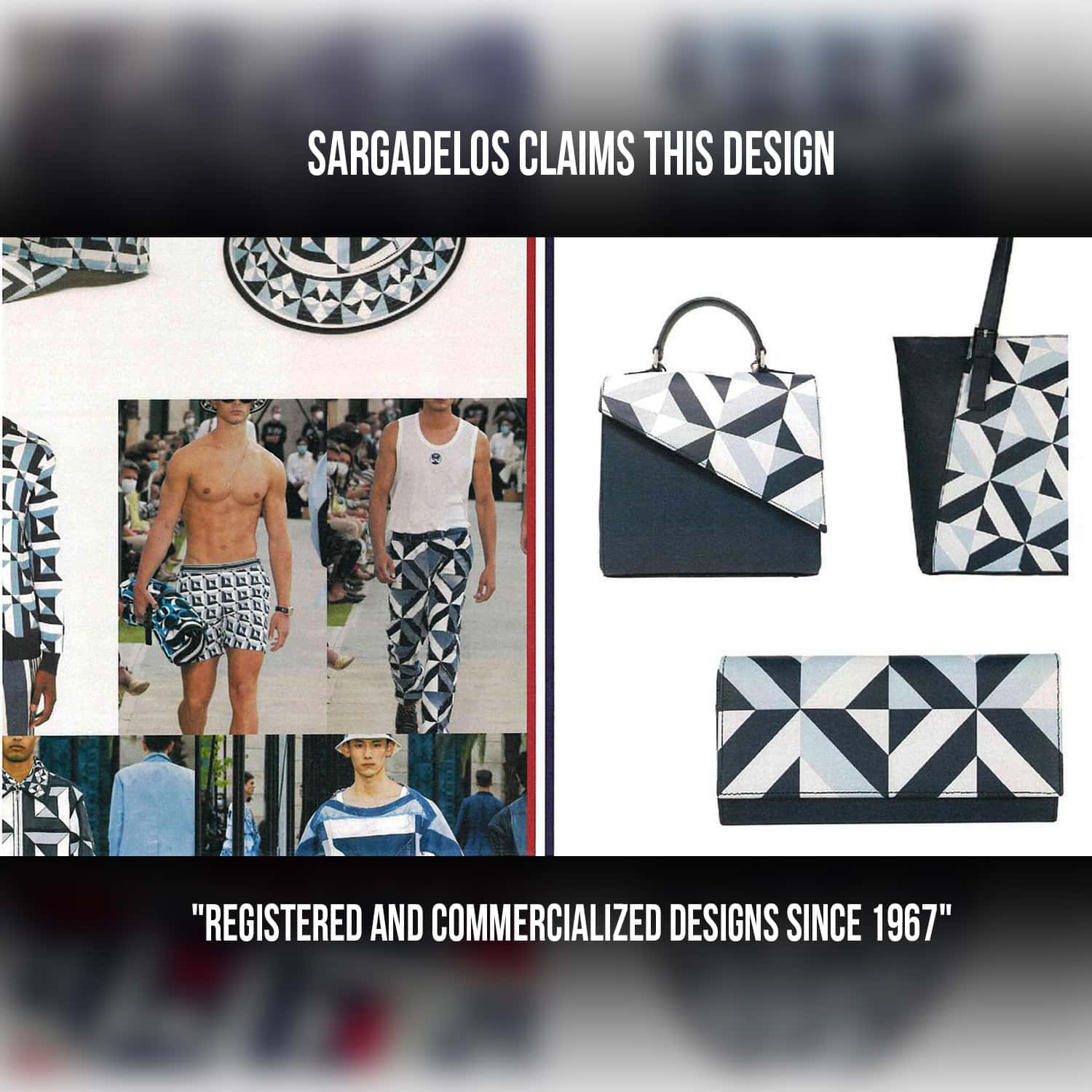 Sargadelos claims to register design in 1967 in Spain - review by RUNWAY MAGAZINE