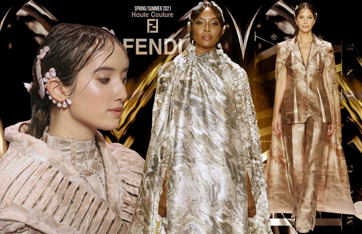 Fendi Haute Couture Spring Summer 2021 by RUNWAY MAGAZINE