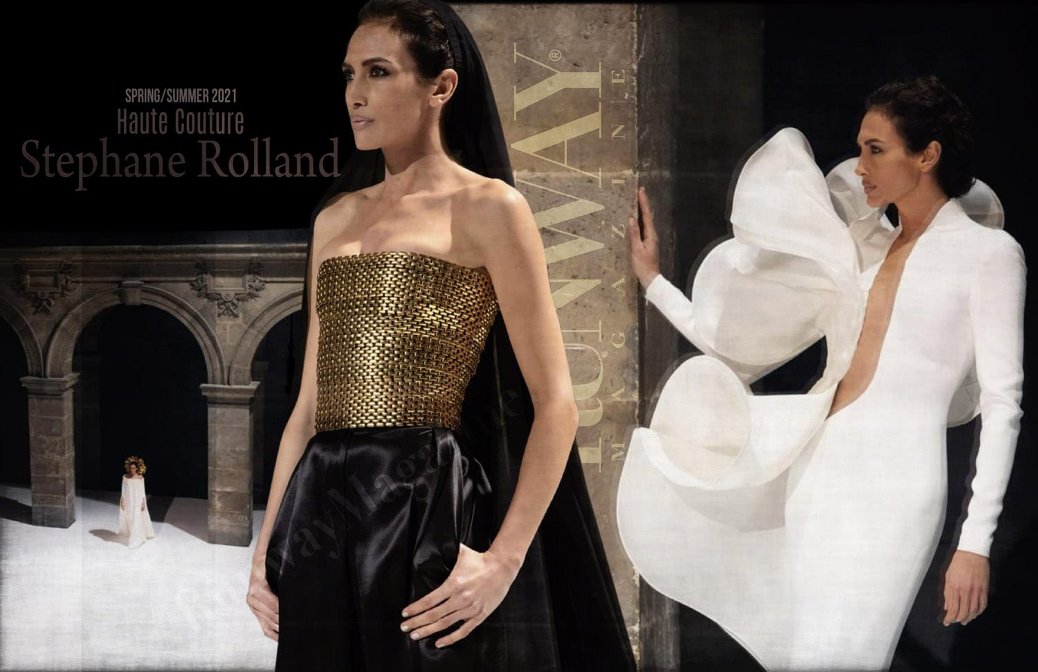Stephane Rolland Haute Couture Spring Summer 2021 by RUNWAY MAGAZINE