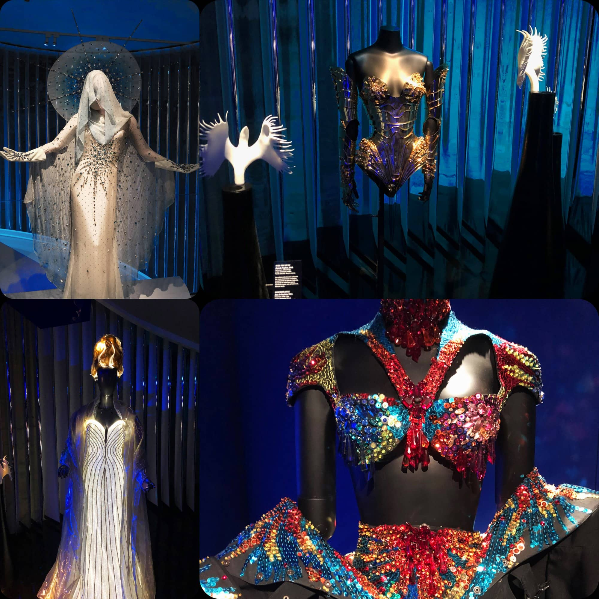 Exhibition of Thierry Mugler COUTURISSIME expo at MAD Paris by RUNWAY MAGAZINE