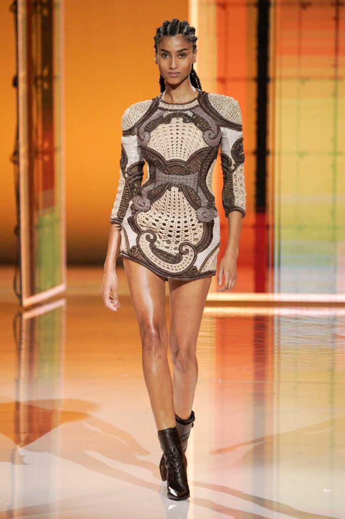 Balmain by Olivier Rousteing Spring Summer 2022 by RUNWAY MAGAZINE