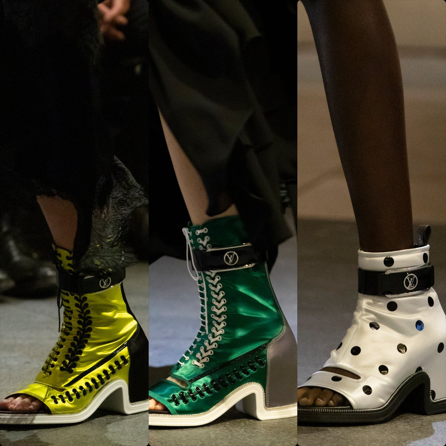 Louis Vuitton Spring Summer 2022 shoes by RUNWAY MAGAZINE